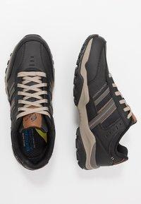 Skechers - HENRICK - Trainers - black - 1