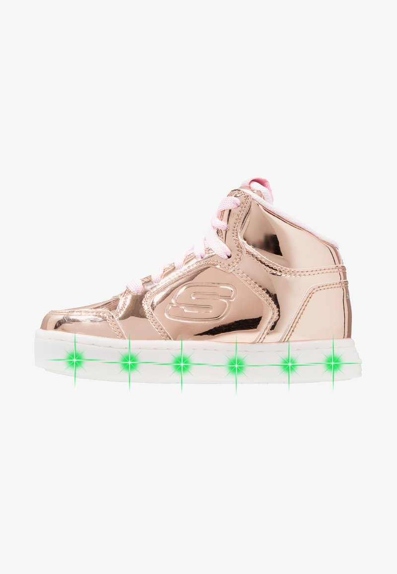 Skechers - ENERGY LIGHTS - Sneakers high - rose gold