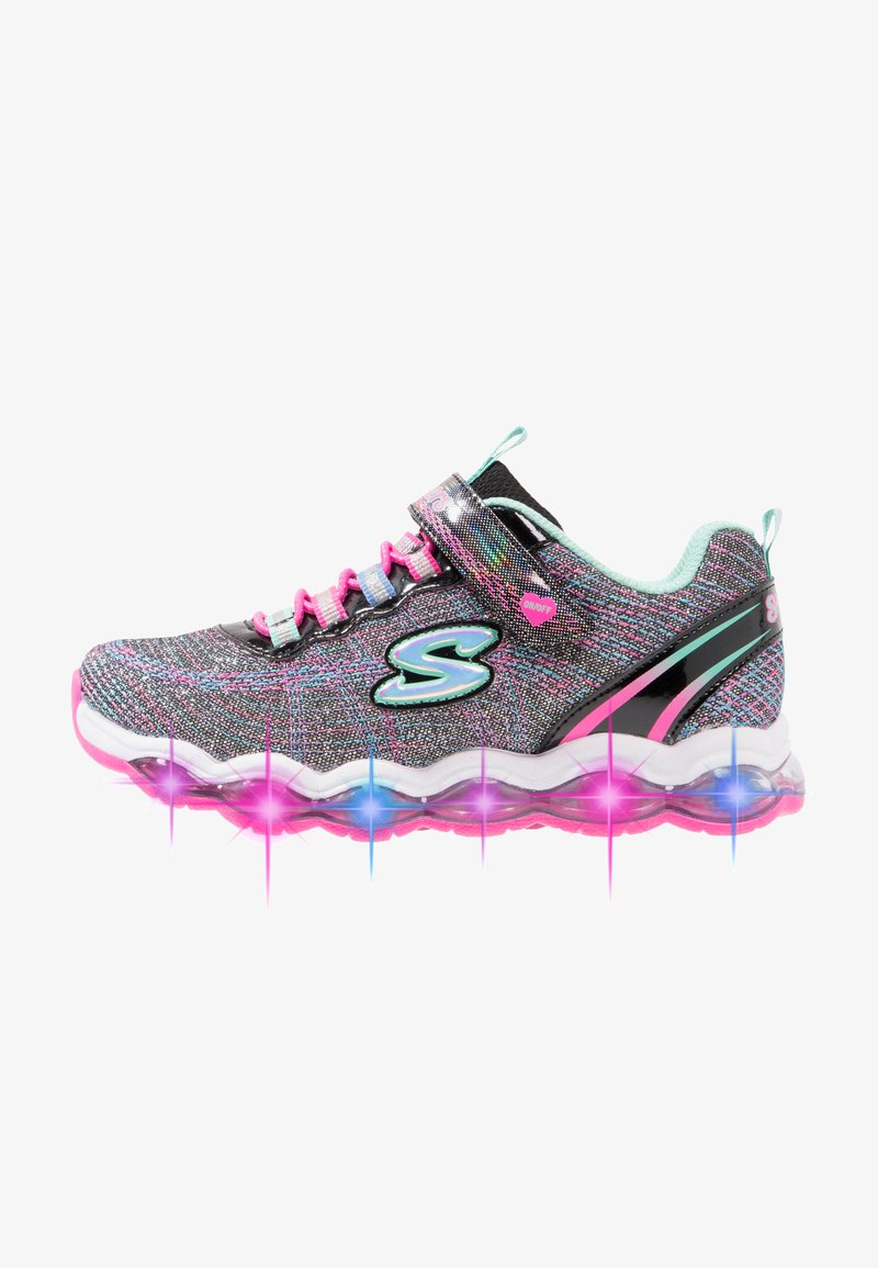 Skechers - GLIMMER LIGHTS - Zapatillas - black sparkle/multicolor