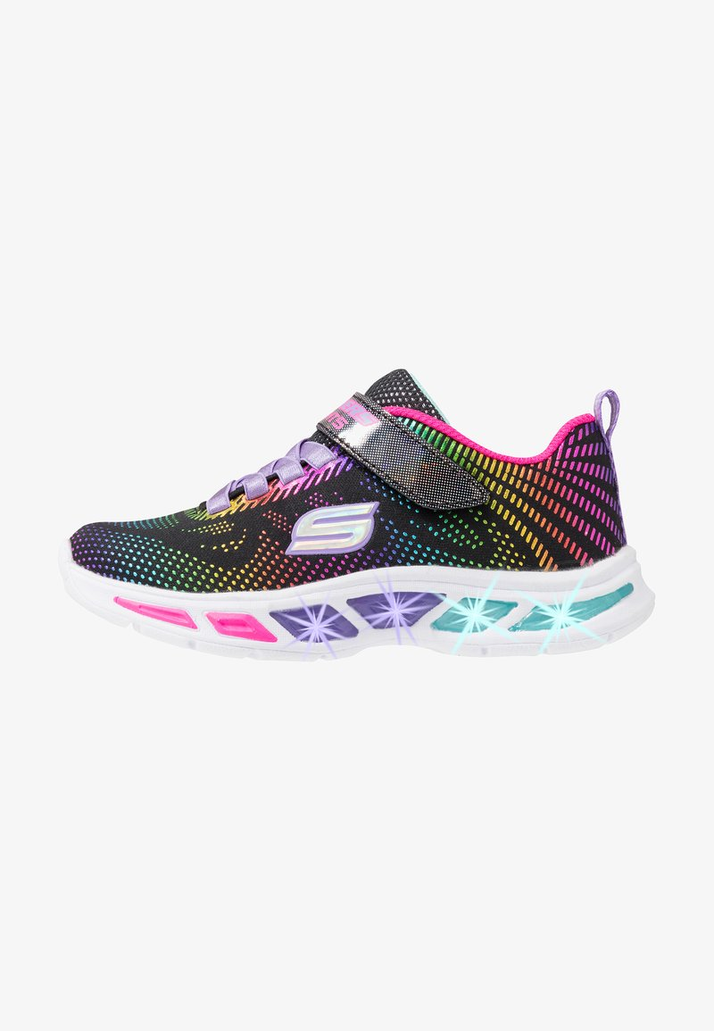 Skechers - LITEBEAMS - Trainers - black/multicolor
