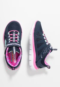 Skechers - SKECH APPEAL 2.0 - Sneaker low - navy/hot pink/multicolor - 0