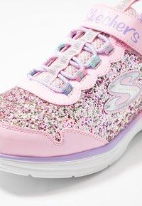 Skechers - GLIMMER KICKS - Zapatillas - pink glitter/lavender - 5