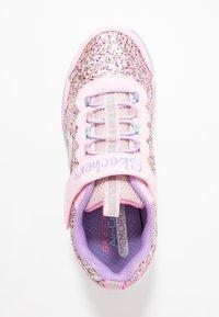 Skechers - GLIMMER KICKS - Zapatillas - pink glitter/lavender - 1