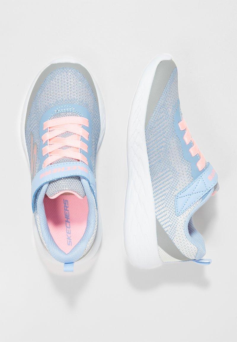 Skechers - GO RUN 600 - Sneaker low - grey /light blue/light pink