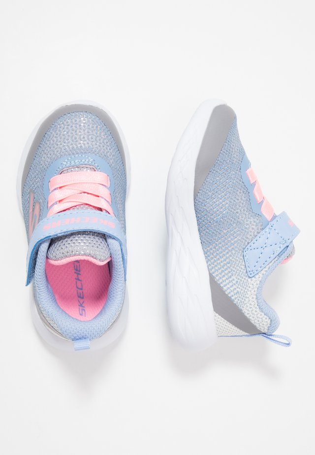 GO RUN 600 - Sneakers - grey/light blue/light pink