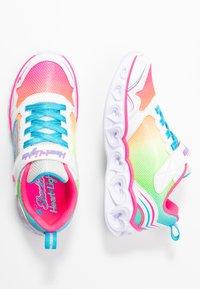 Skechers - HEART LIGHTS - Zapatillas - white/multicolor sparkle - 1