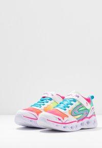 Skechers - HEART LIGHTS - Zapatillas - white/multicolor sparkle - 2
