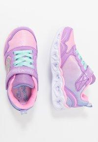 Skechers - HEART LIGHTS - Trainers - lavender/multicolor - 1