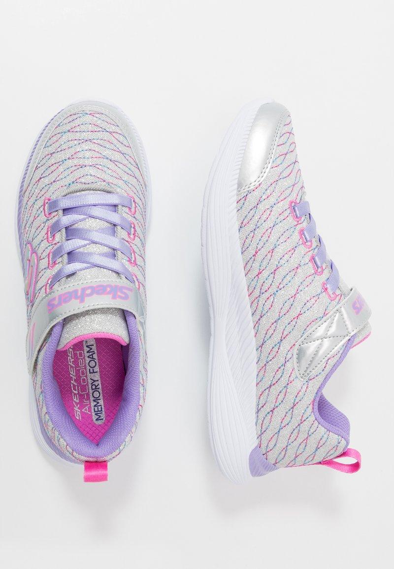 Skechers - MOVE 'N GROOVE - Tenisky - silver sparkle/lavender/multicolor