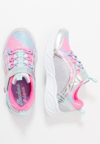 Skechers - SHIMMER BEAMS - Trainers - silver/multicolor - 0