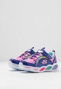 Skechers - SHIMMER BEAMS - Sneaker low - blue/multicolor - 2