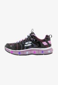 Skechers - LIGHT SPARKS - Trainers - black sparkle/multicolor - 0