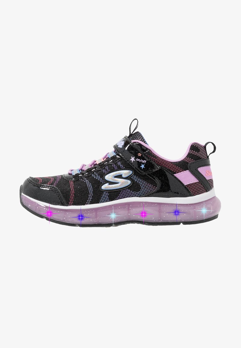 Skechers - LIGHT SPARKS - Trainers - black sparkle/multicolor
