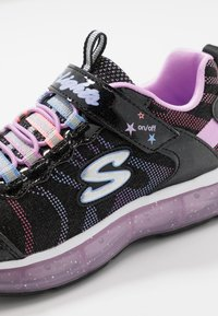 Skechers - LIGHT SPARKS - Trainers - black sparkle/multicolor - 5