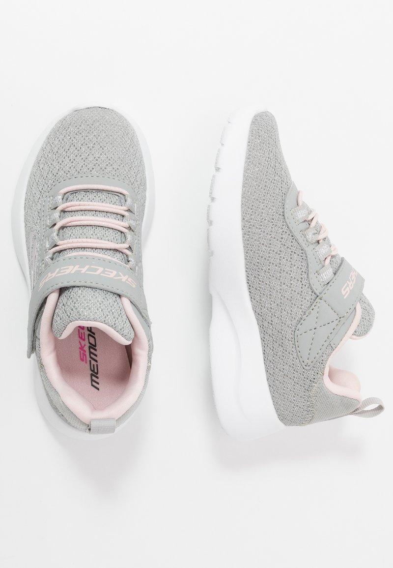 Skechers - DYNAMIGHT 2.0 - Sneaker low - light gray/pink
