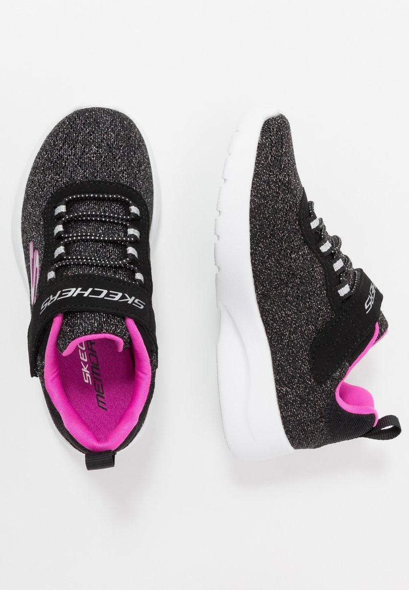 Skechers - DYNAMIGHT 2.0 - Tenisky - black/hot pink