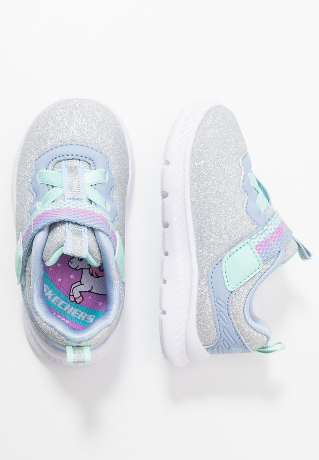COMFY FLEX 2.0 - Sneakers - silver sparkle/light blue