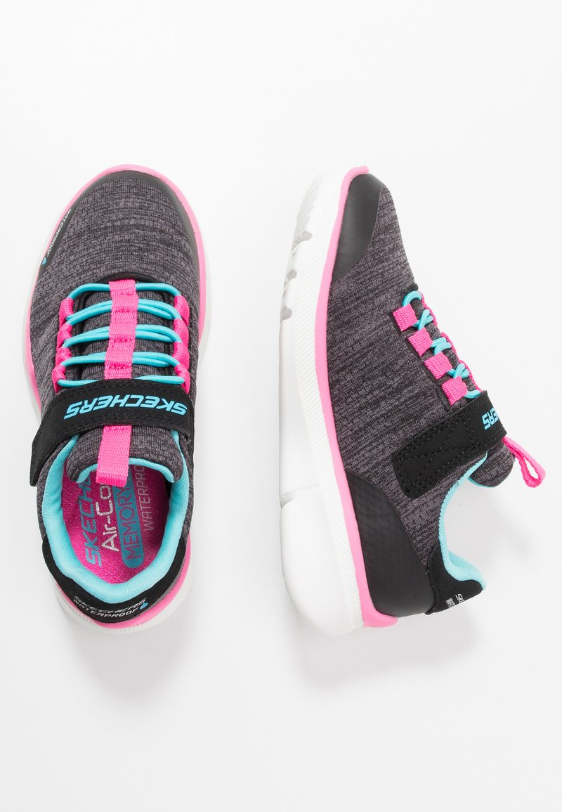 Skechers - EQUALIZER 3.0 - Trainers - black/charcoal/turquoise/pink
