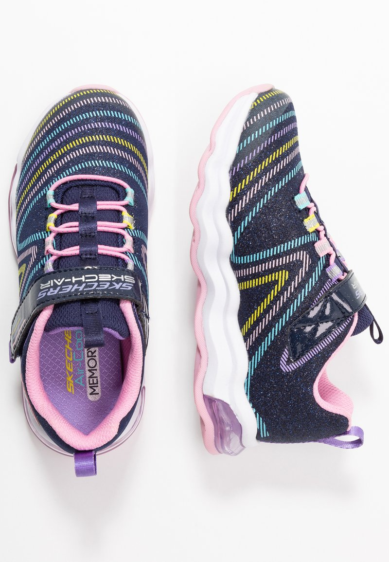 Skechers - SKECH-AIR WAVELENGTH - Trainers - navy/multicolor