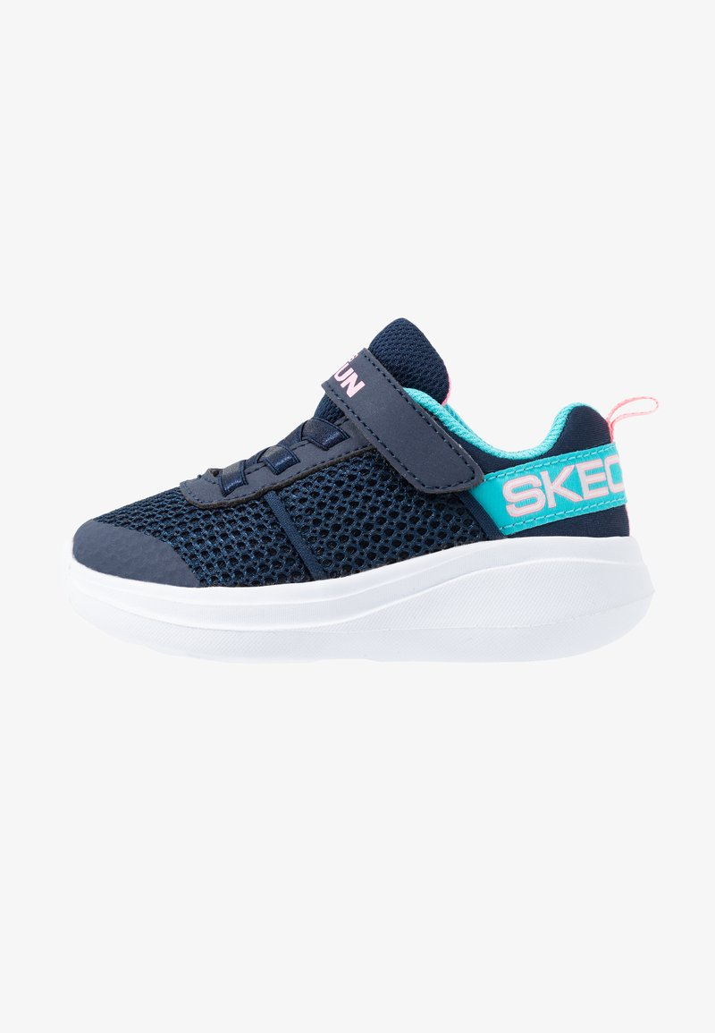 Skechers - GO RUN FAST - Trainers - navy/aqua