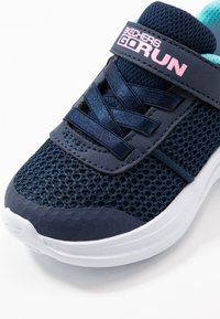 Skechers - GO RUN FAST - Trainers - navy/aqua - 5