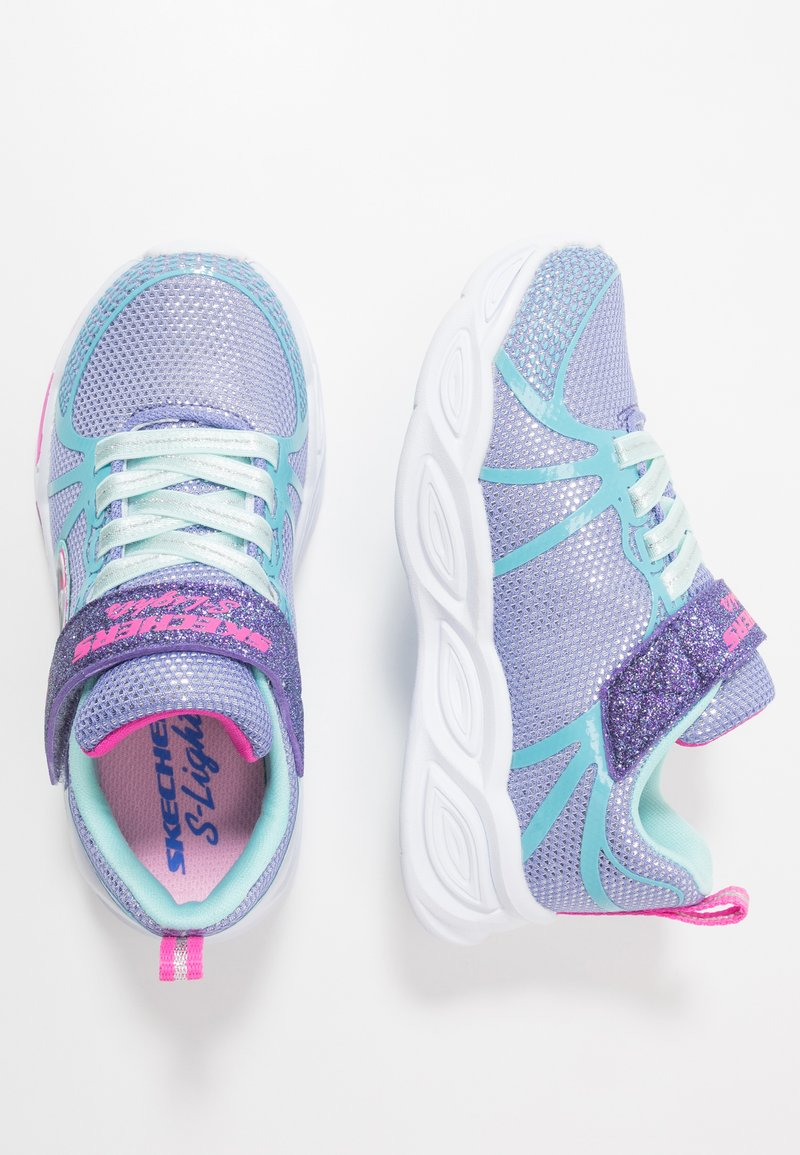 Skechers - SHIMMER BEAMS - Tenisky - periwinkle sparkle/multicolor