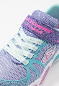 Skechers - SHIMMER BEAMS - Tenisky - periwinkle sparkle/multicolor - 2