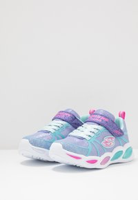 Skechers - SHIMMER BEAMS - Tenisky - periwinkle sparkle/multicolor - 3