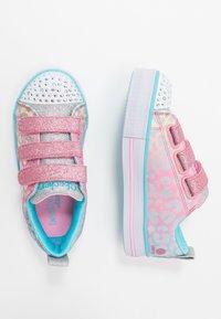 Skechers - TWINKLE LITE - Tenisky - pink/multicolor/silver - 1
