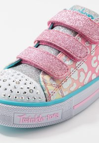 Skechers - TWINKLE LITE - Tenisky - pink/multicolor/silver - 5
