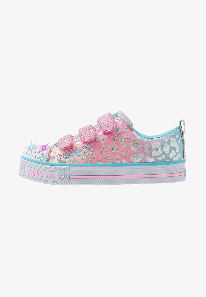 Skechers - TWINKLE LITE - Tenisky - pink/multicolor/silver