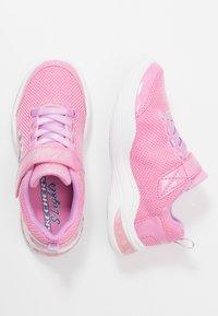Skechers - POWER PETALS - Matalavartiset tennarit - pink/multicolor - 1