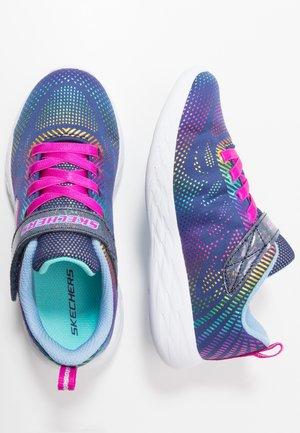 GO RUN - Sneaker low - navy/multicolor
