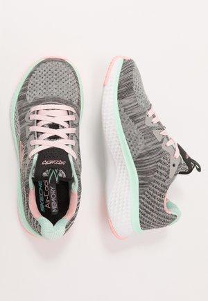 SOLAR FUSE - Sneaker low - gray/black/ pink/mint