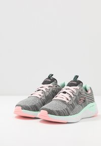 Skechers - SOLAR FUSE - Trainers - gray/black/ pink/mint - 3