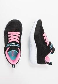 Skechers - DYNA LIGHTS - Zapatillas - black/pink/aqua - 1
