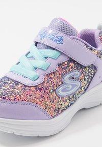 Skechers - GLIMMER KICKS - Trainers - lavender rock glitter/aqua/pink - 5
