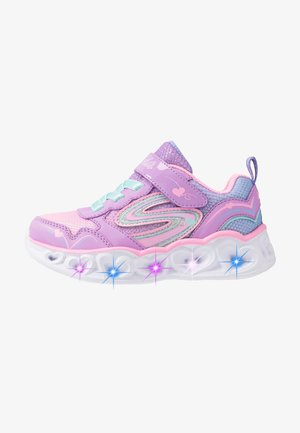HEART LIGHTS - Zapatillas - lavender durasatin/multicolor sparkle