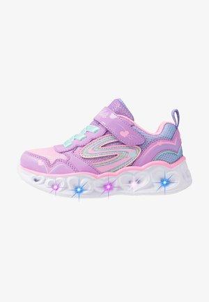 HEART LIGHTS - Trainers - lavender durasatin/multicolor sparkle