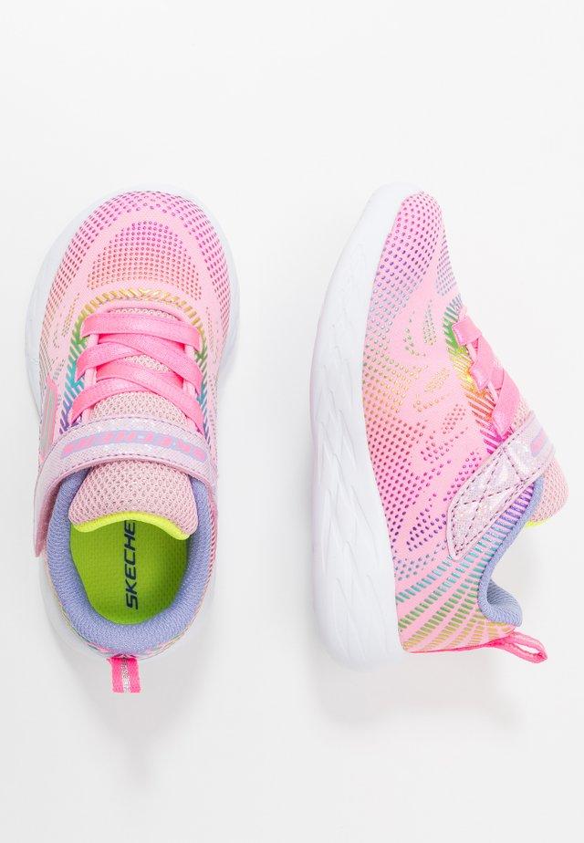 GO RUN - Sneakers - light pink/multicolor