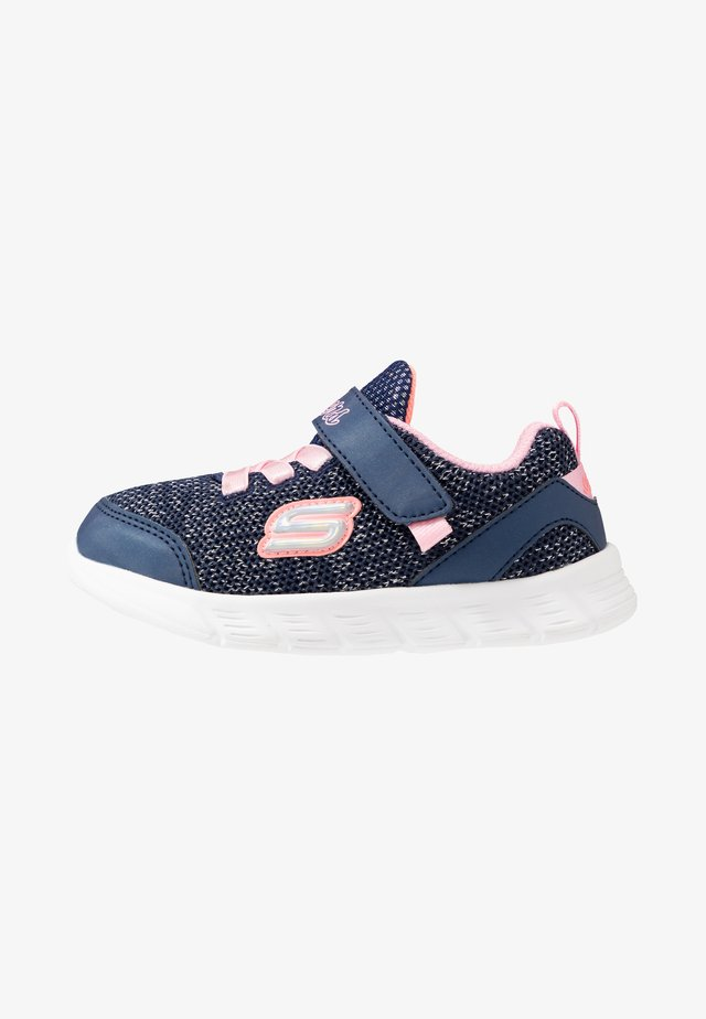 COMFY FLEX - Matalavartiset tennarit - navy/pink