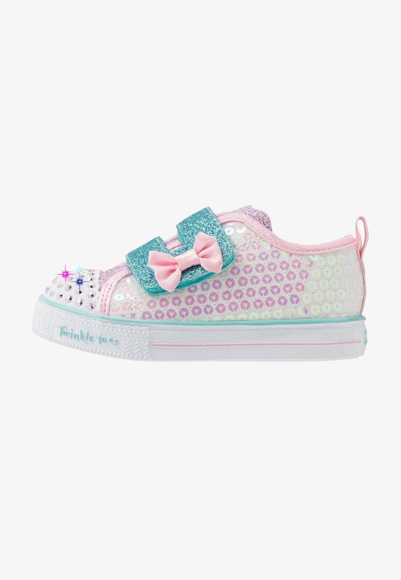 Skechers - SHUFFLE LITE - Trainers - white/pink