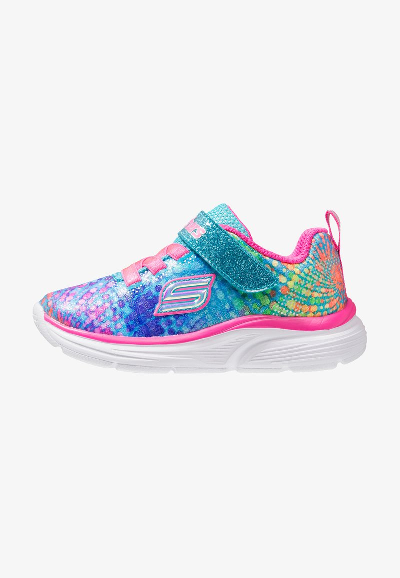 Skechers - WAVY LITES - Trainers - multicolor/hot pink