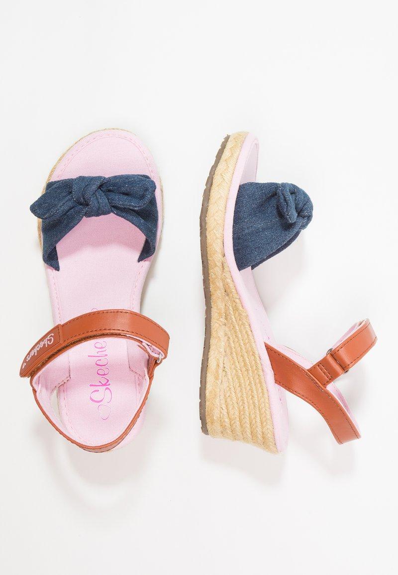 Skechers - TIKIS - Sandaler - denim/blue