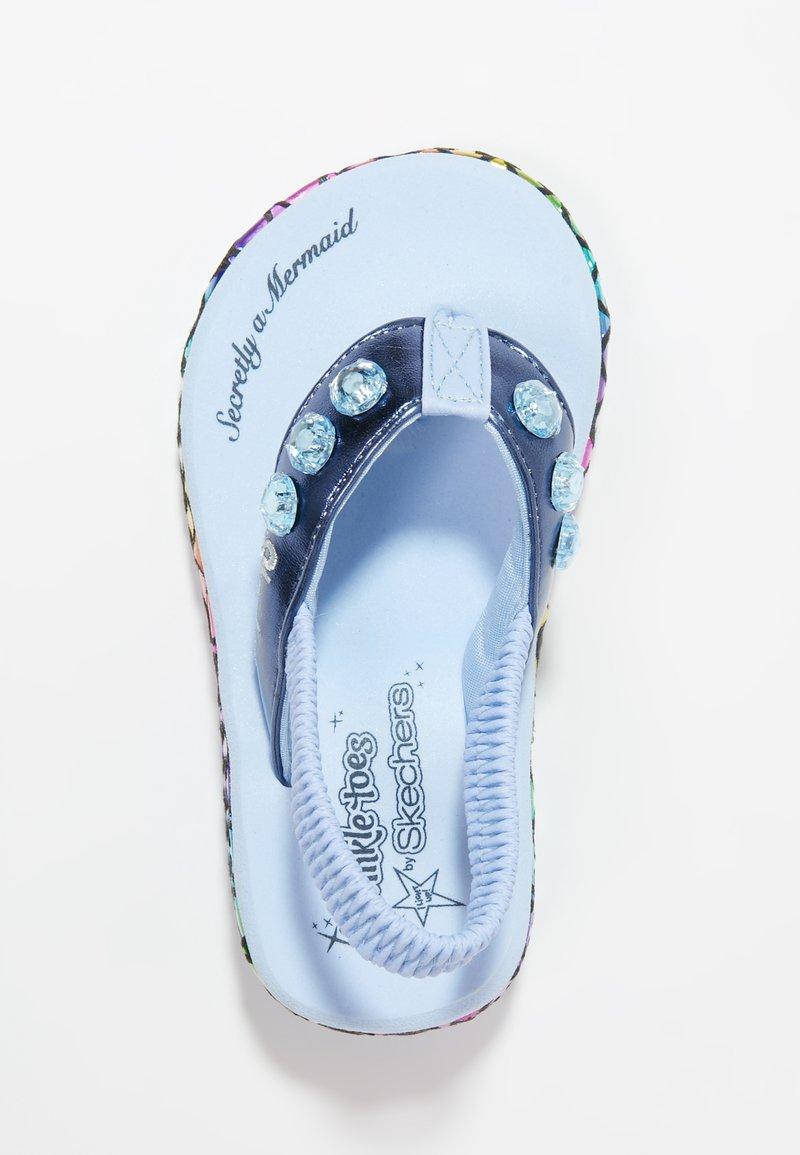 Skechers - SUNSHINES - T-bar sandals - navy