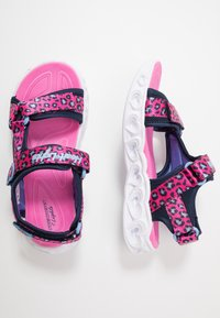 Skechers - HEART LIGHTS - Sandalias - pink - 1