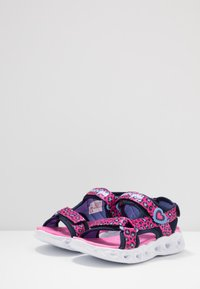 Skechers - HEART LIGHTS - Sandalias - pink - 2