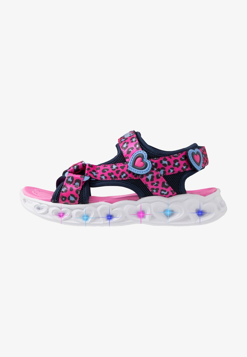 Skechers - HEART LIGHTS - Sandalias - pink