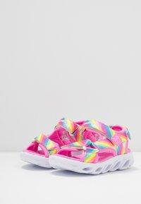 Skechers - HYPNO-SPLASH RAINBOW LIGHTS - Sandals - multicolor - 3