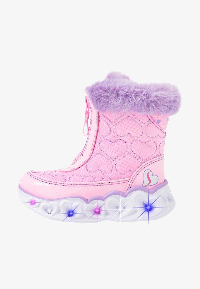 HEART LIGHTS - Høje støvler/ Støvler - pink/lavender